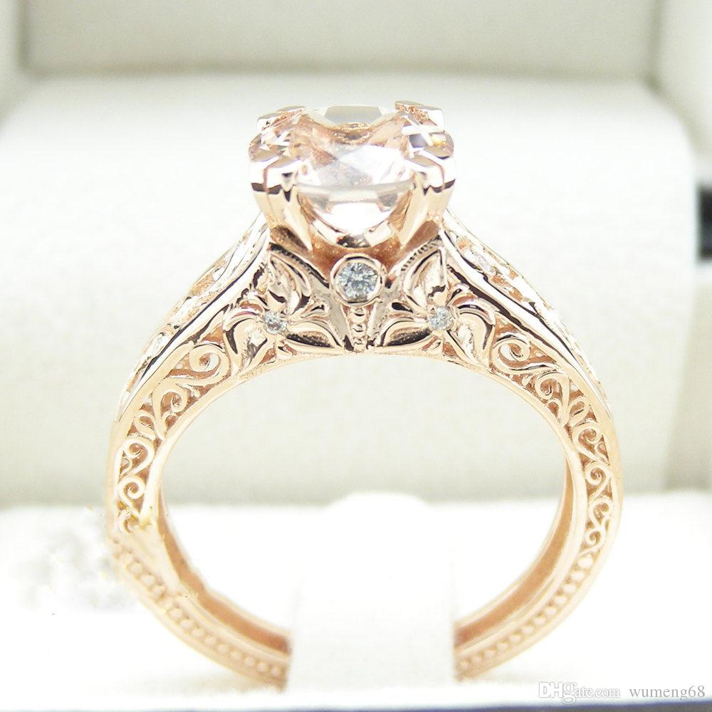 Fullsize Of Round Cut Engagement Rings