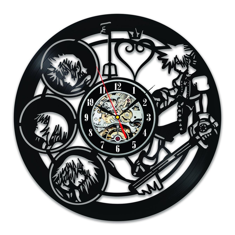 Prissy Boy Good Wallclocks Decor Vintage Art Gift Kingdom Hearts Characters Vintage Vinyl Wall Clock Decorate Yourhome Man Kingdom Hearts Characters Vintage Vinyl Wall Clock Decorate furniture Good Wall Clocks
