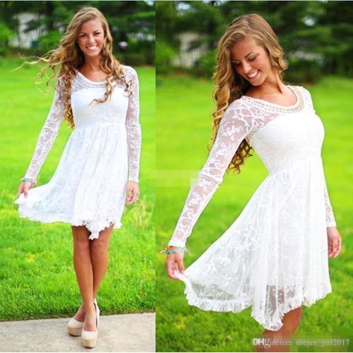 Medium Crop Of Casual Wedding Dresses