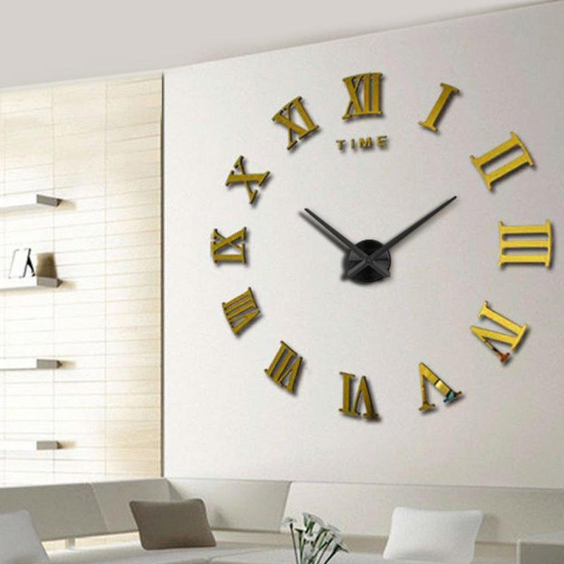 Large Of Large Wall Clock Red