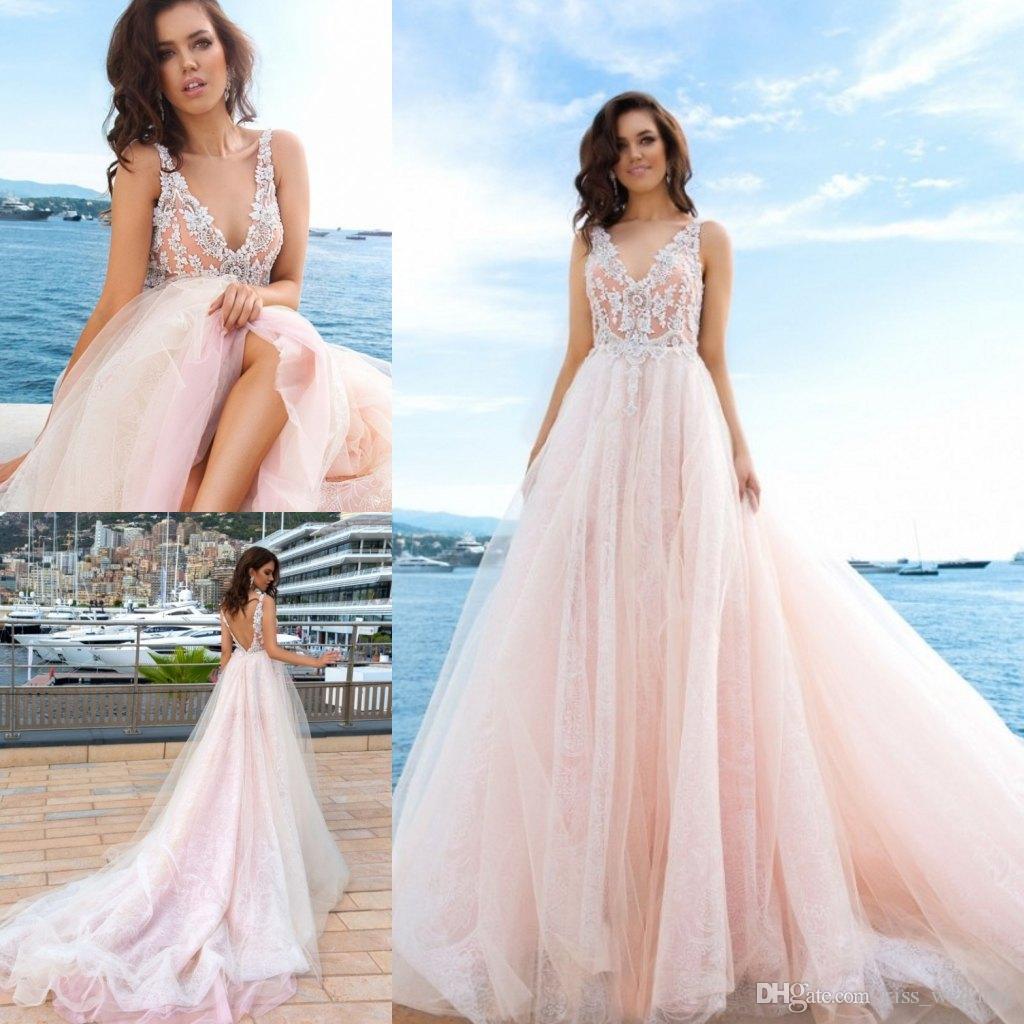 Fullsize Of Pink Wedding Dresses