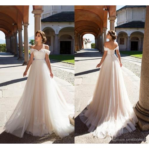 Medium Crop Of A Line Wedding Dresses