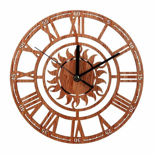 Medium Of Roman Numerals Clock
