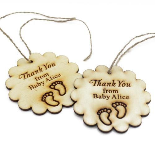 Rummy Juteribbon Decor Baby Shower Present Tags Favors Tag Thank You Tag Tag Tagpresente Personalized Engraved Wooden Thank You Tags Birthday Gift Tag With Personalized Engraved Wooden Thank You Tags