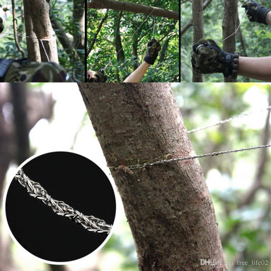Fanciful Outdoor Camping Hiking Manual Hand Steel Rope Chain Saw Portable Practicalemergency Survival Gear Steel Wire Kits Travel Tools Steel Rope Chain Sawgear Outdoor Camping Hiking Manual Hand Stee houzz-03 Rope Chain Saw