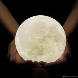 Small Crop Of Moon Night Light