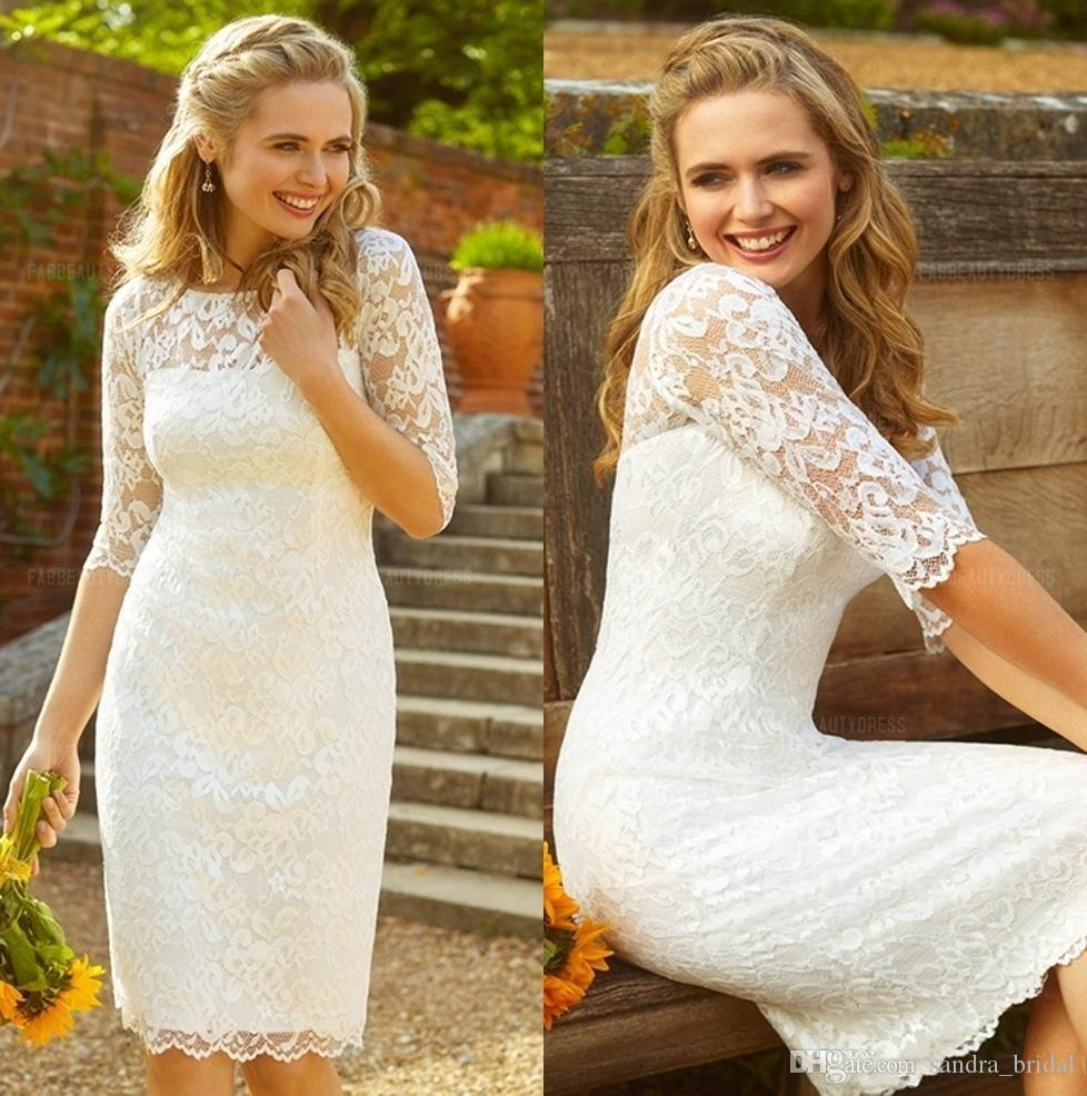 Fullsize Of Knee Length Wedding Dresses