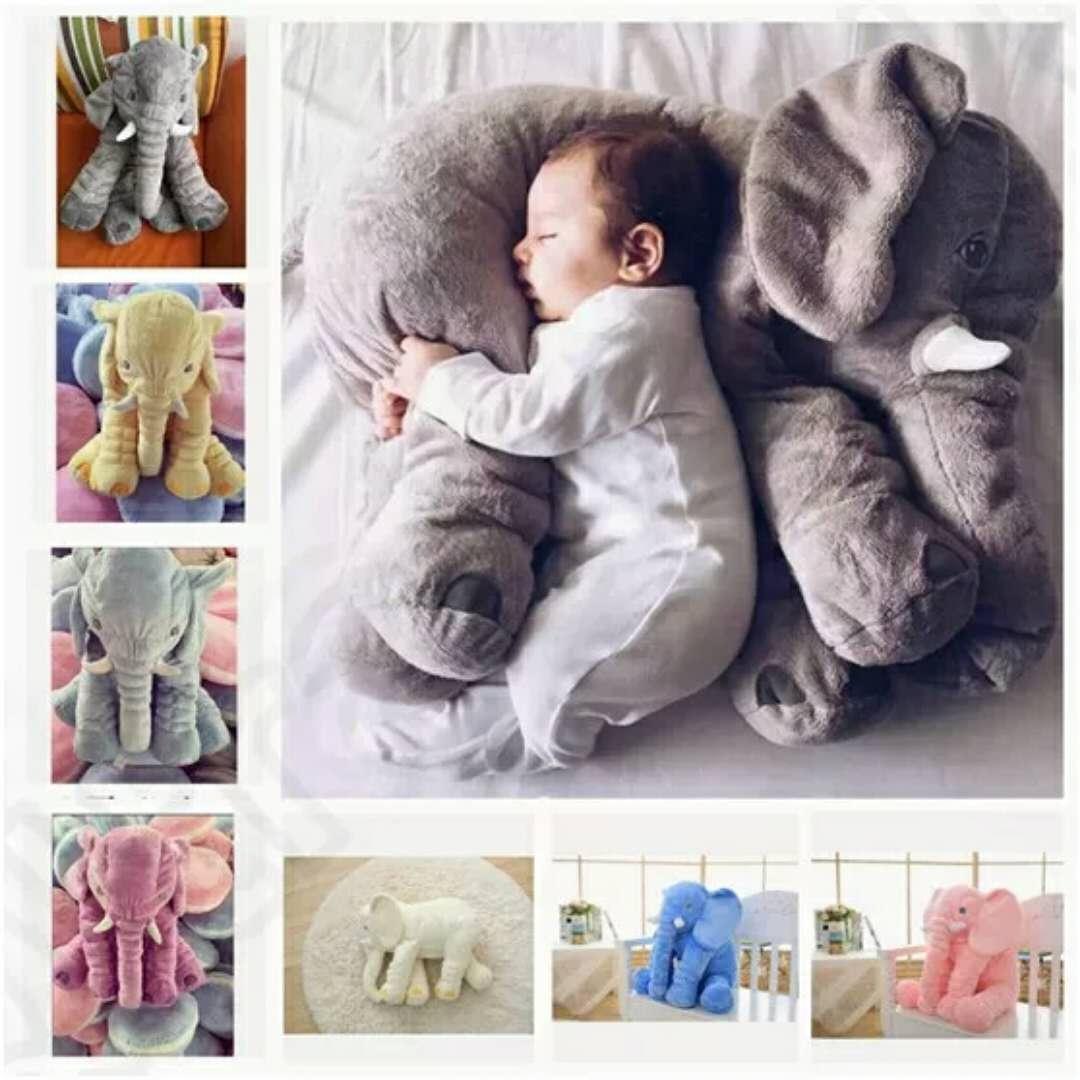 Posh Elephant Toys Dolls Big Stuffed Elephant Animal Toys Five Colorschildren Throw Pillow Baby Sleeping Toy Elephant Bigstuffed Elephant Toys Dolls Big Stuffed Elephant Animal Toys Five baby Giant Stuffed Elephant