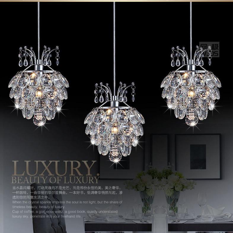 Modern Crystal Chandelier Pendant Light Stair Hanging Restaurant – Bedroom Crystal Chandelier