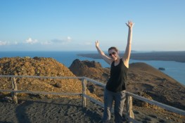 Galapagos Cruise - Hike up Pinnacle Rock, Bartolomé Island