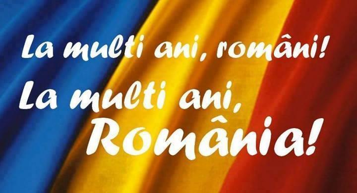 La multi ani, Romania! La multi ani, romanasi!
