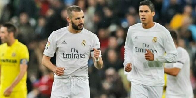 Real Madrid se mantiene enganchado a la Liga tras ganar al Villarreal