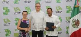 SIS y Grupo MASECA firman convenio  de cooperación para mujeres