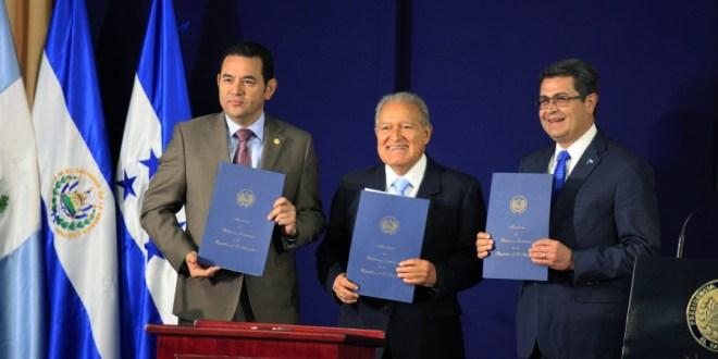 El Salvador, Guatemala y Honduras unen esfuerzos para combatir el crimen organizado