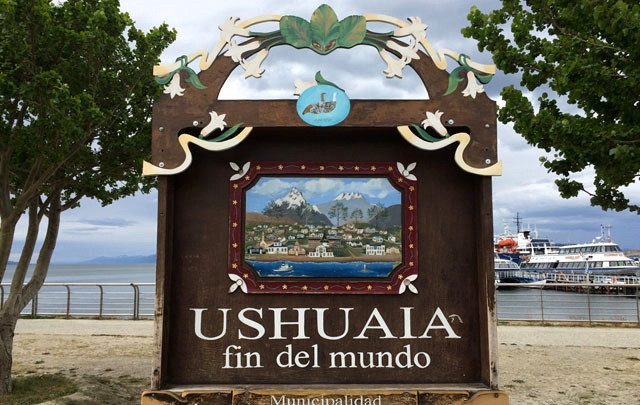 Ushuaia y excursión al glaciar Martial.