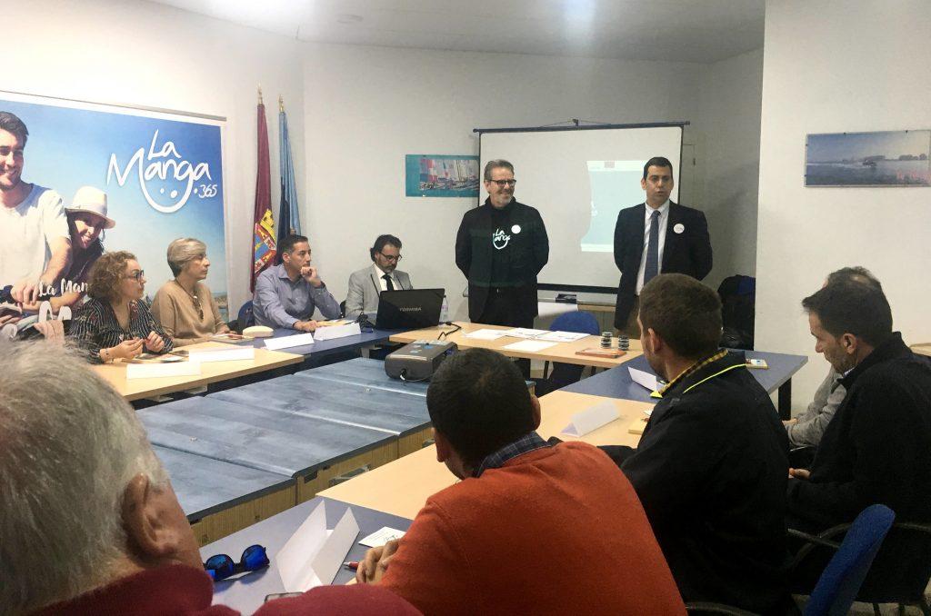 La Comunidad arranca las mesas de trabajo en La Manga para decidir parte del destino de los fondos EDUSI
