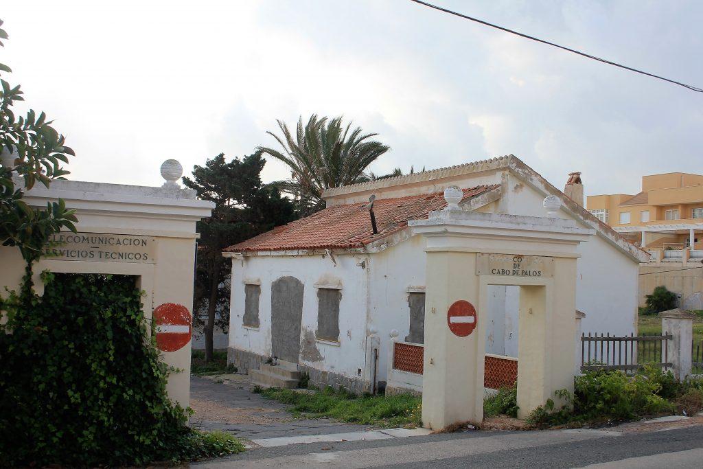 Declarado «bien inventariado» la antigua Estación TSH y Radio Costera de Cabo de Palos