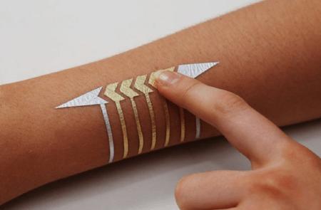 DuoSkin, un tatuaje temporal que respira tecnología