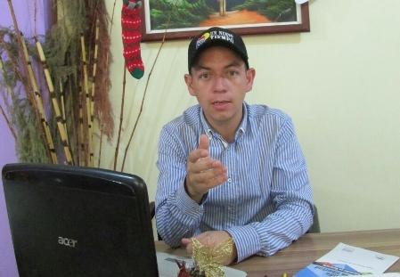 Gregori Silva, dirigente juvenil de UNT en los Altos Mirandinos