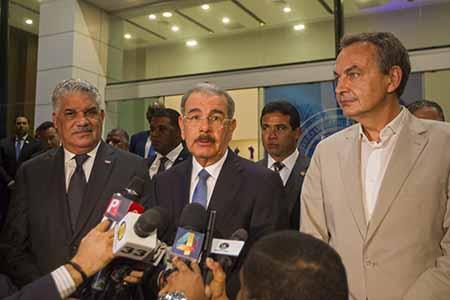Gobierno y oposición venezolana sostienen reunión en Dominicana
