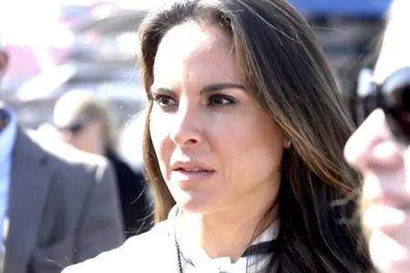 La funcionaria confirmó que Del Castillo fue citada a declarar sobre la reunión que tuvo con Guzmán junto al actor estadounidense Sean Penn.