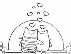 dibujos-de-amor-a-lapiz-faciles-animales