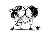 34480262-pareja-en-el-amor-juntos-boceto-de-san-valentín-para-su-diseño