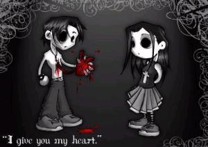 Imágenes-de-amor-emo-I-give-you-my-heart