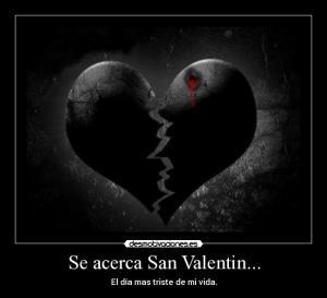 Imagenes tristes de San Valentin para Facebook