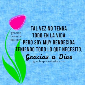 Frases de agradecimiento Dios