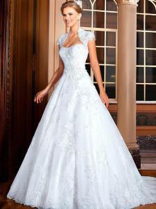 Vestidos-De-Noiva-2016-nova-moda-princesa-frisada-vestido-De-Noiva-com-Bolero-Plus-Size-Vestidos