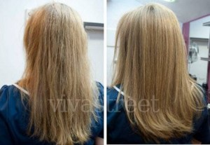Botox en el cabello Cómo se aplica