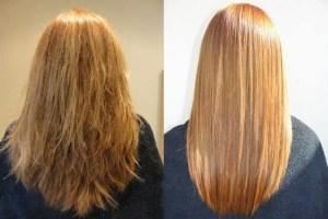 Botox para el pelo para que