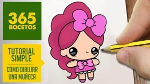 Dibujos Animados Para Colorear De Animales Tiernos O DIBUJAR UNA MU'ECA KAWAII PASO A PASO Dibujos kawaii faciles