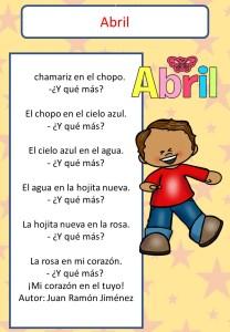 Poemas para niños cortas