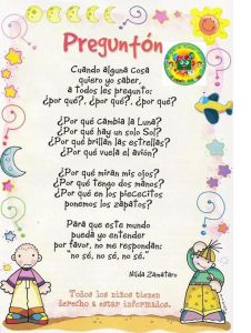 Poesías para niños cortas pdf