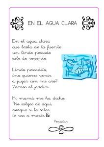 Poesías para niños de preescolar