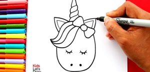 Dibujos de unicornios fáciles
