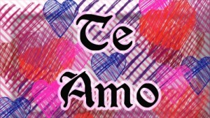 Dibujos de amor color que digan te amo