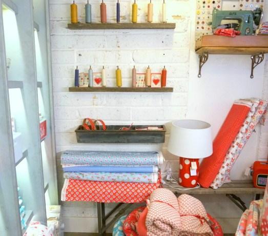 Fabric shopping in London
