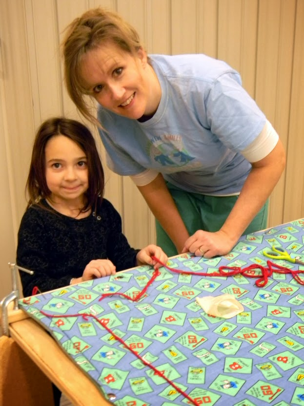 Serving with Smiles quilt