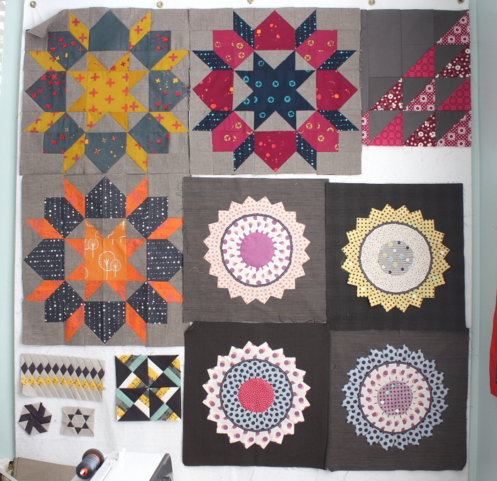 design wall quilt projects