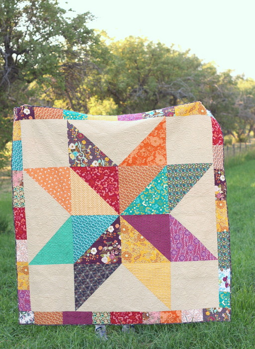 giant lone star quilt