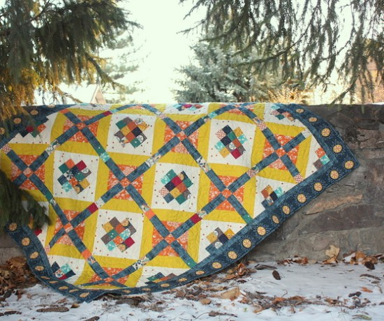 Artisan Watchtower quilt