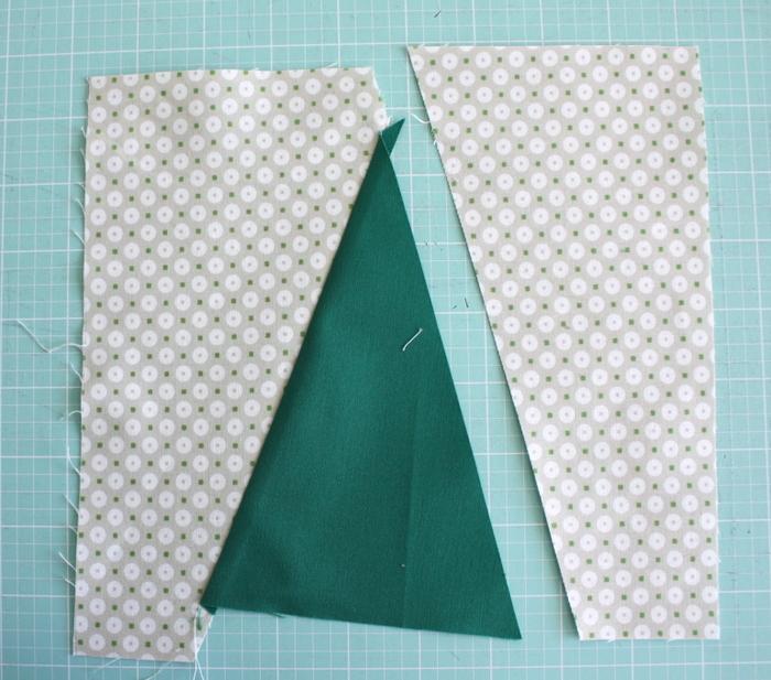 sew Christmas Tree quilt block