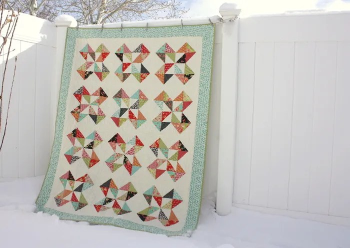 Fig Tree Farmhouse Starcakes quilt