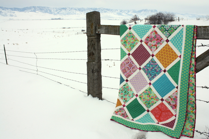 Lattice Quilt by Amy Smart - Dream Weaver