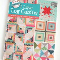 New Log Cabin Quilt + Book