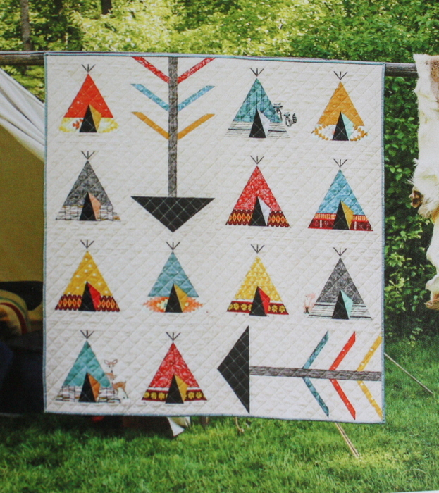TeePee Quilt - Amy Friend