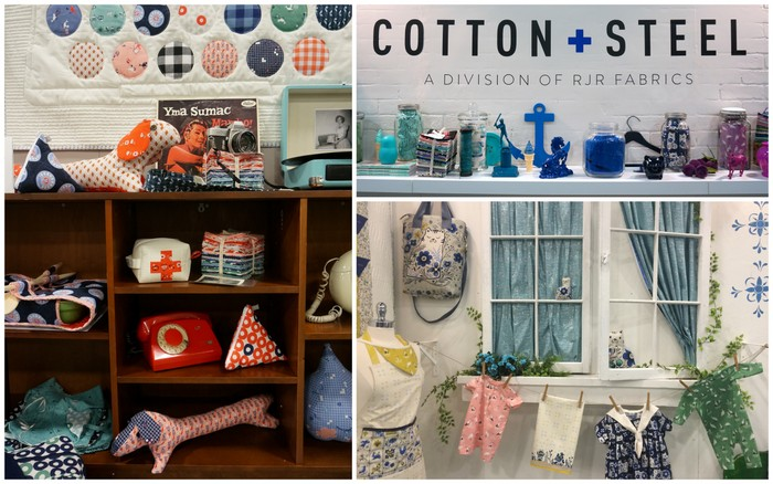 Cotton and Steel Quilt Market 2016